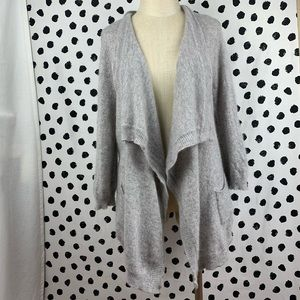 Charter Club Luxury Cashmere Open Front Cardigan